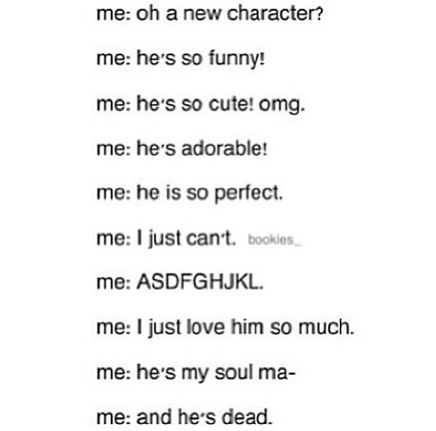 And he's dead          (Mental breakdown) | Movies | Fangirl