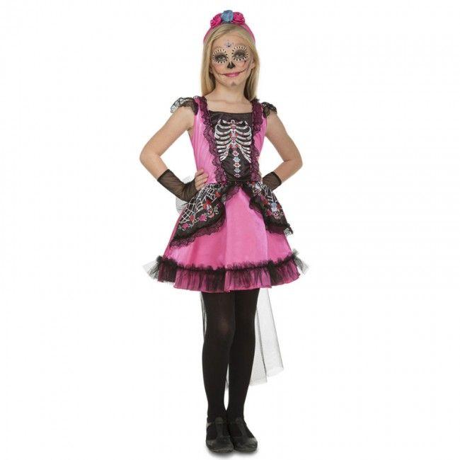 disfraz de halloween rosa