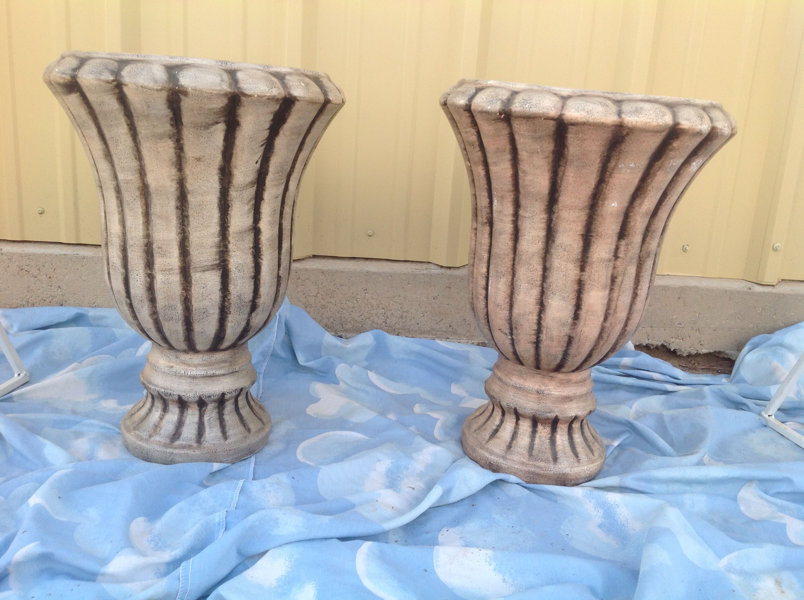 Two matching ceramic vases approximately 3 ft tall 5 rental two matching ceramic vases approximately 3 ft tall 5 rental each http reviewsmspy