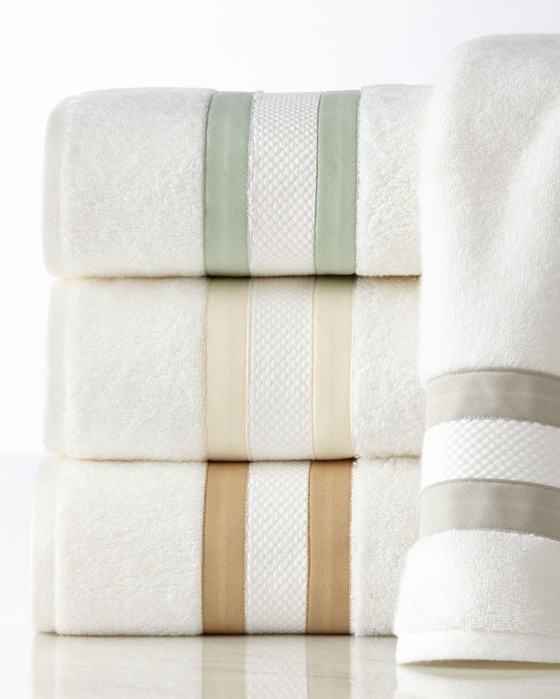 Marlowe Bath Towel Soft Towelshand Towelsstriped