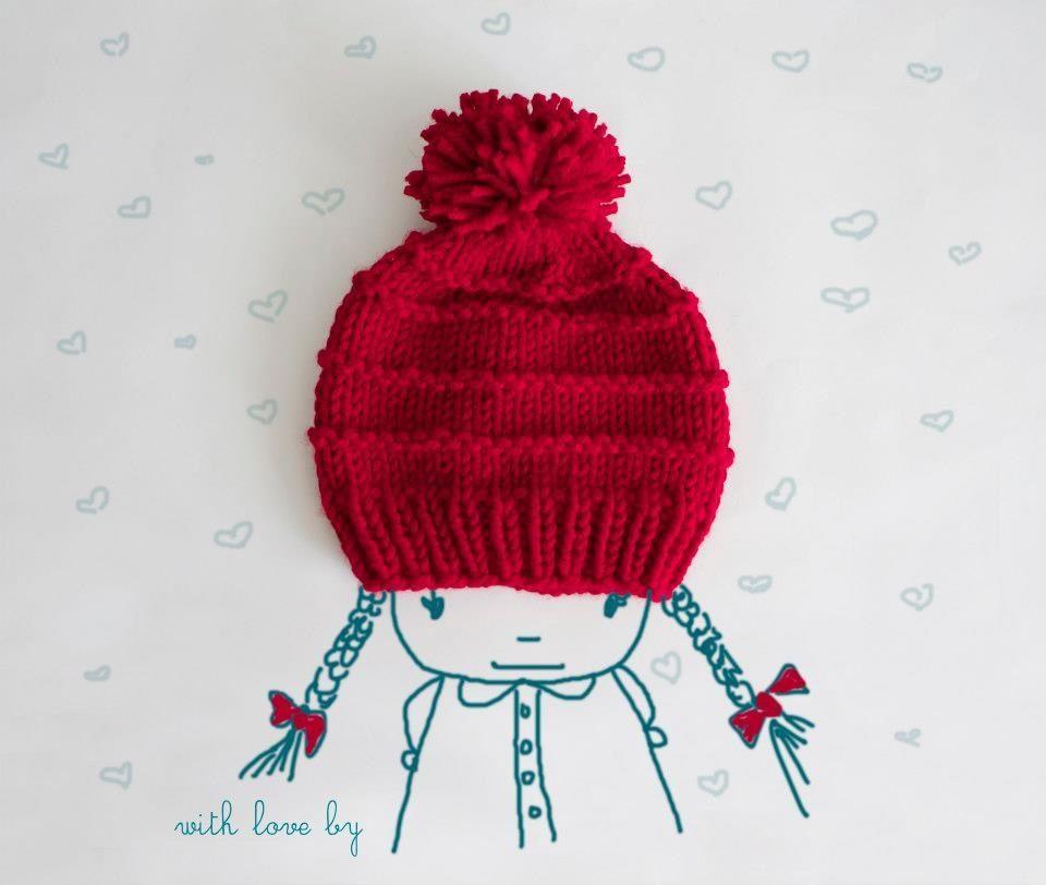 Vermonter hat - knit knit :)