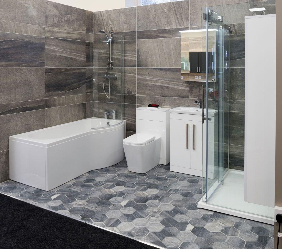 Model keramik kamar mandi minimalis modern model keramik kamar mandi - Kamar Mandi Hotel Dengan Keramik Kamar Mandi Bermotif Hexagonal Dan Dinding Batu Alam