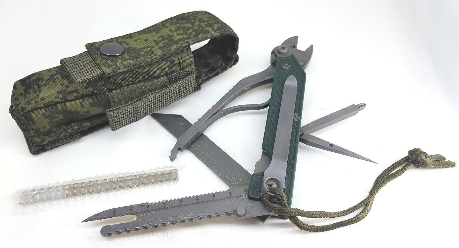 100 Authentic Russian Army Soldier Multitool KNIFE 6E6