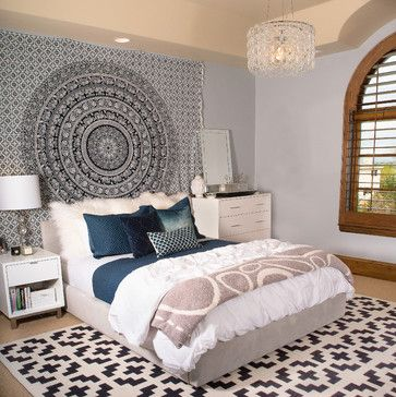 صورة غرفة نوم بنات رمادية في دنفر كولورادو 123 ديكورات غرف نوم Indie Room Home Home Decor