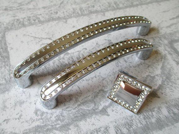 3 3 4 Quot Dresser Pull Drawer Pulls Handles Knobs Crystal