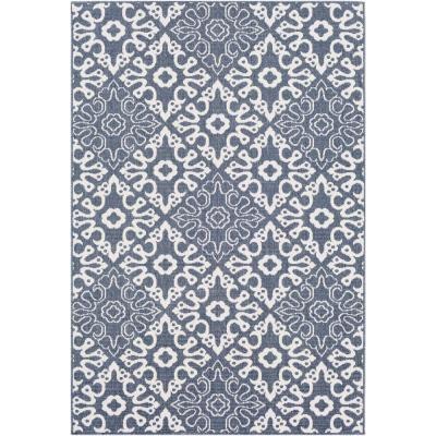 Artistic Weavers Felix Navy 8 Ft 9 In X 12 Ft 9 In Geometric