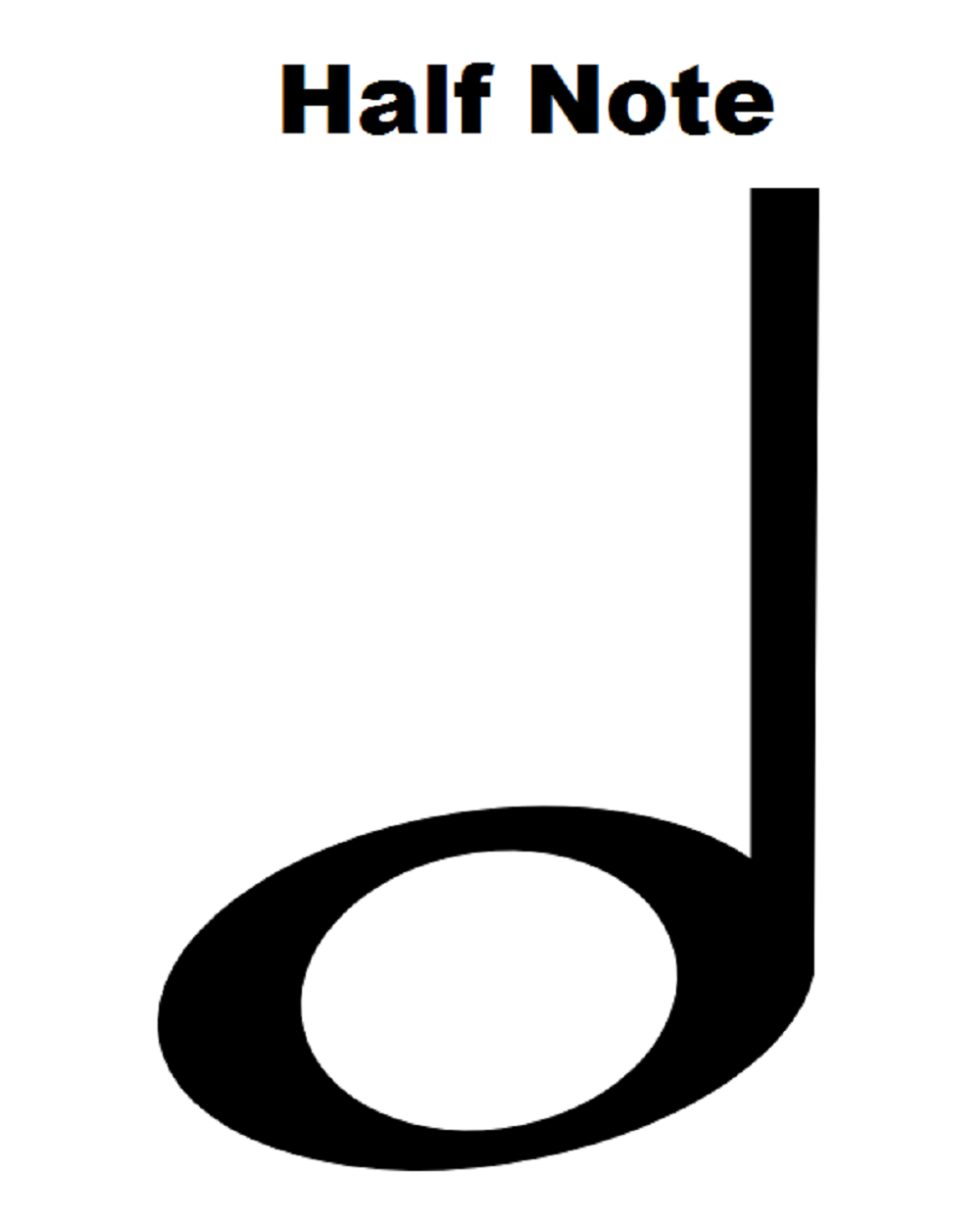 Half note music pinterest music theory music theory half note biocorpaavc Gallery