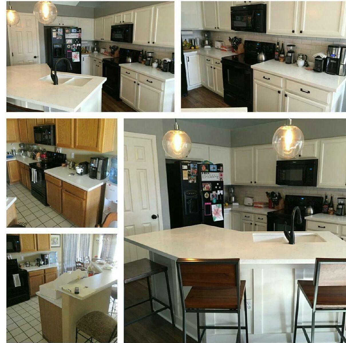 Kitchen Remodel Before & After Pictures. Remodeled By