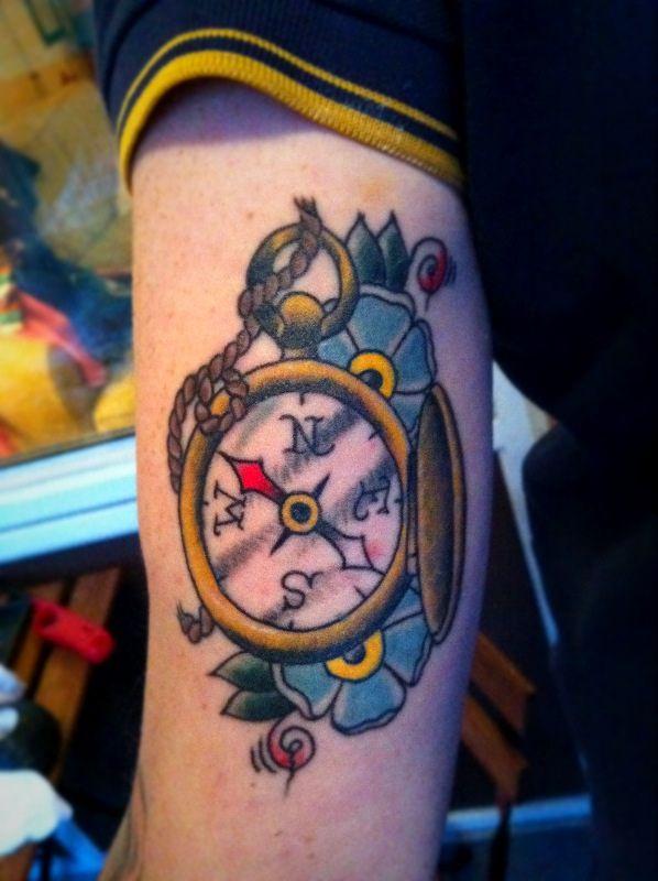 Old School Tattoo My Wishlist Tatuajes Brujulas Tattoo