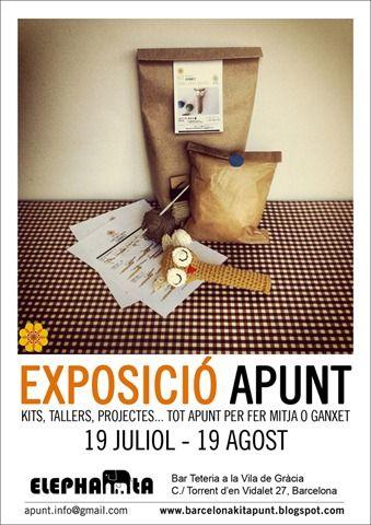 Exposición de aPunt en la tetería-Bar Elephanta, en Gràcia, a partir del jueves 19 de julio de 2012.
