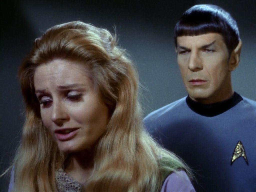 Jill Ireland Leila Kalomi Star Trek by gazomg on DeviantArt