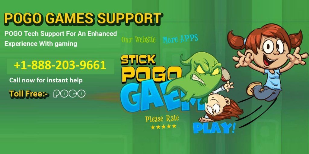 pogo support number +1-888-203-9661 | pogo games toll free ...