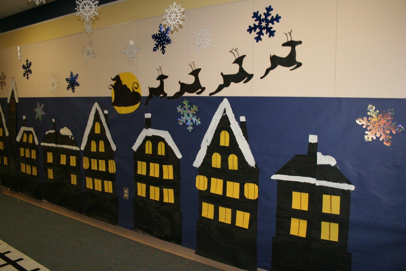 Polar Express Classroom Decoration Ideas : Polar express hallway decorations hope a christmas