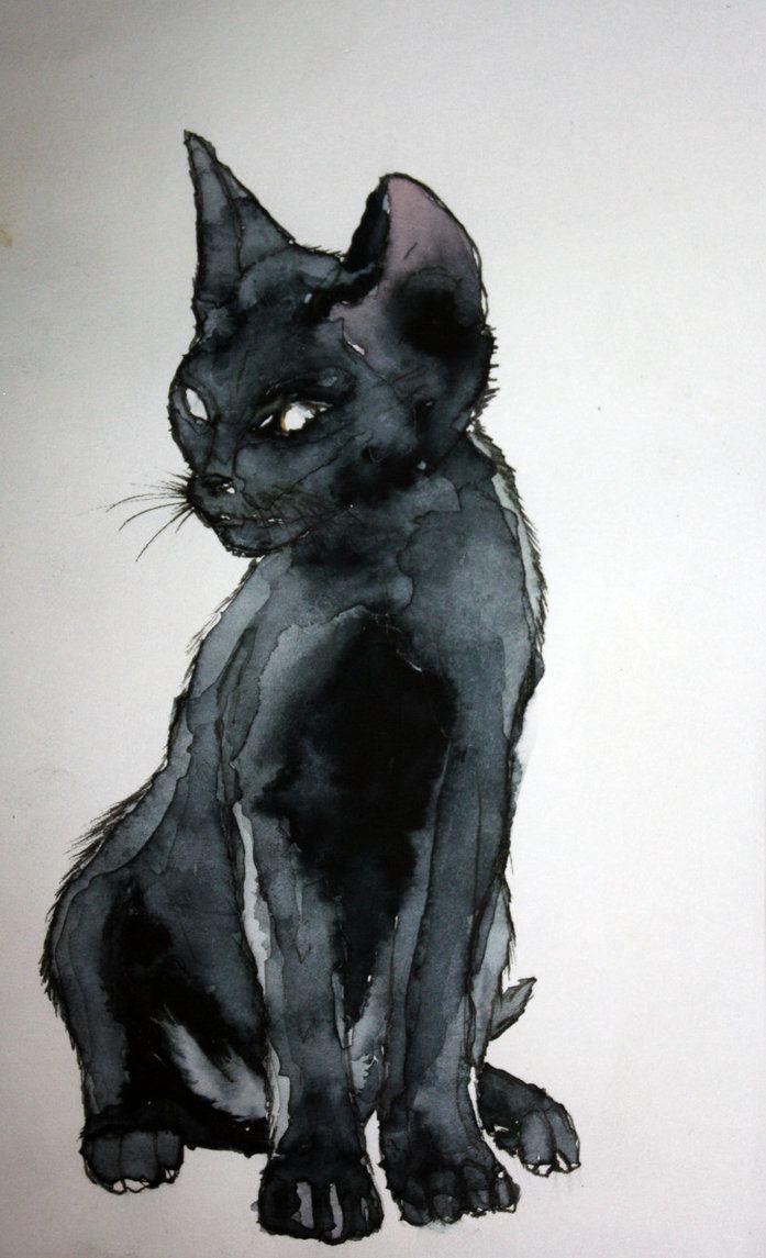 Le Chat Noir By Design Pinterest Le Chat Noir Chats Noirs Et