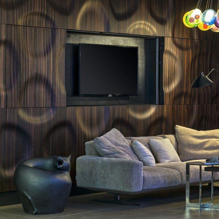 Panneau décoratif mural 3D en bois - designs impressionnants par Moko!