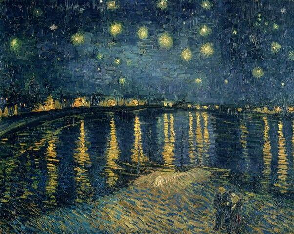 Notte stellata  Museo d'Orsey Parigi 1888