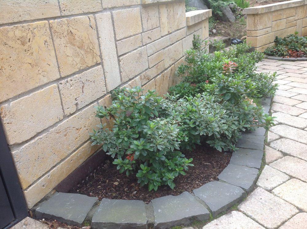 Garten ▫ Terrasse ▫ Außengestaltung ▫ Mauer ▫ Trockenmauer