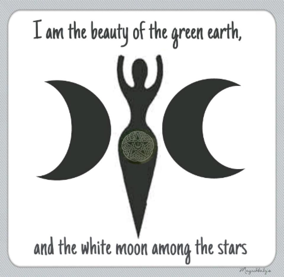 9b65adfd536c0 I am the beauty of the green earth, and the white moon among the ...