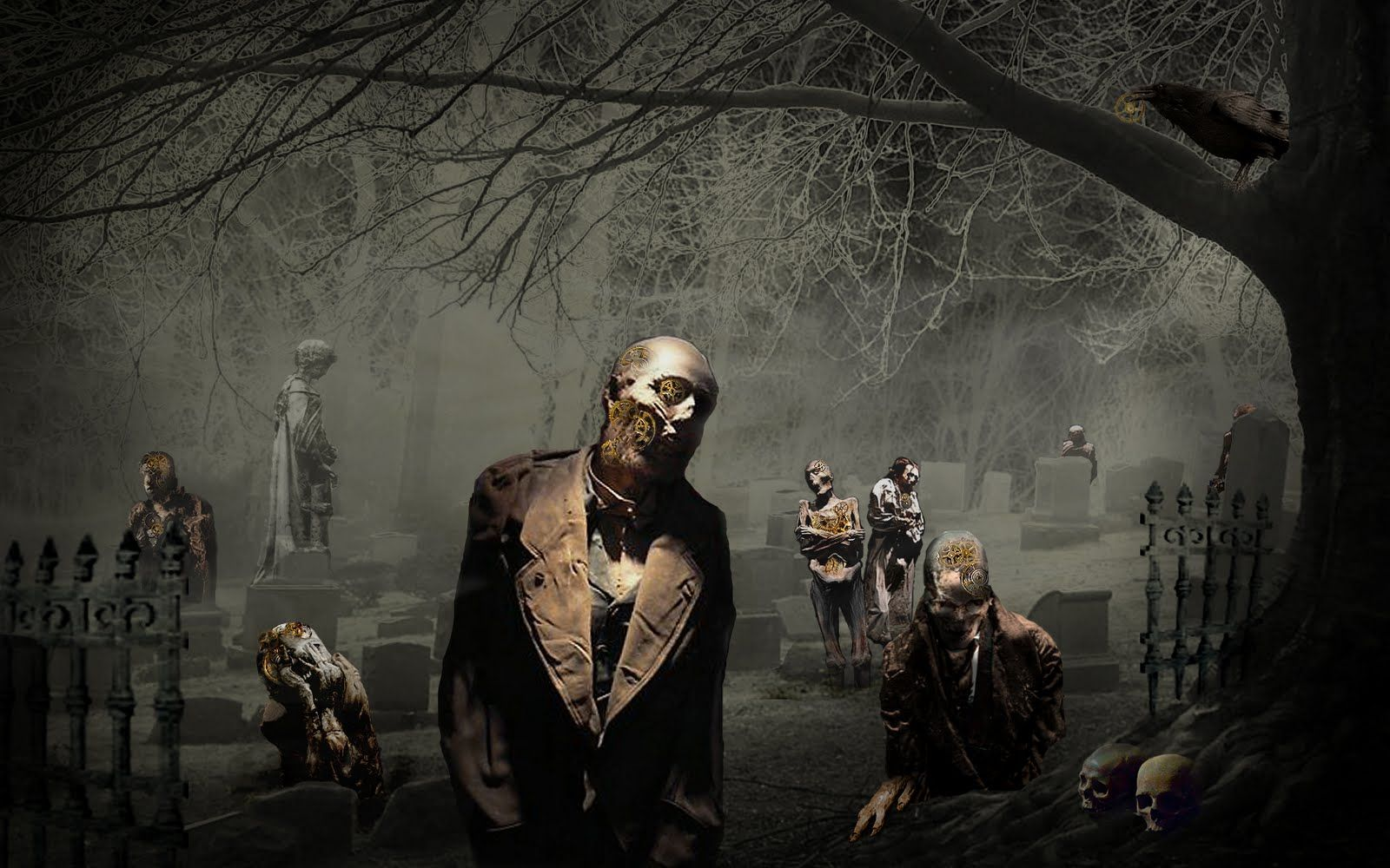 Halloween Pictures Wallpaper Zombie Wallpaper Halloween Desktop Wallpaper Gothic Wallpaper