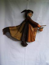 PENDLE WITCH DOLL  (AGATHA ~ Brown) - £27.50 no offers - Listed by Sell it socially     GLDI9097    has been published on Sell it Socially