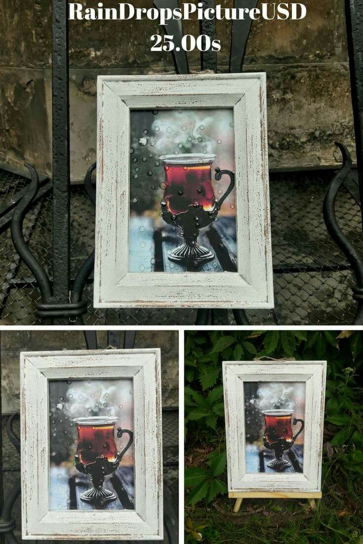 Tea wall art home decor picture d wall decor gift her decoupage