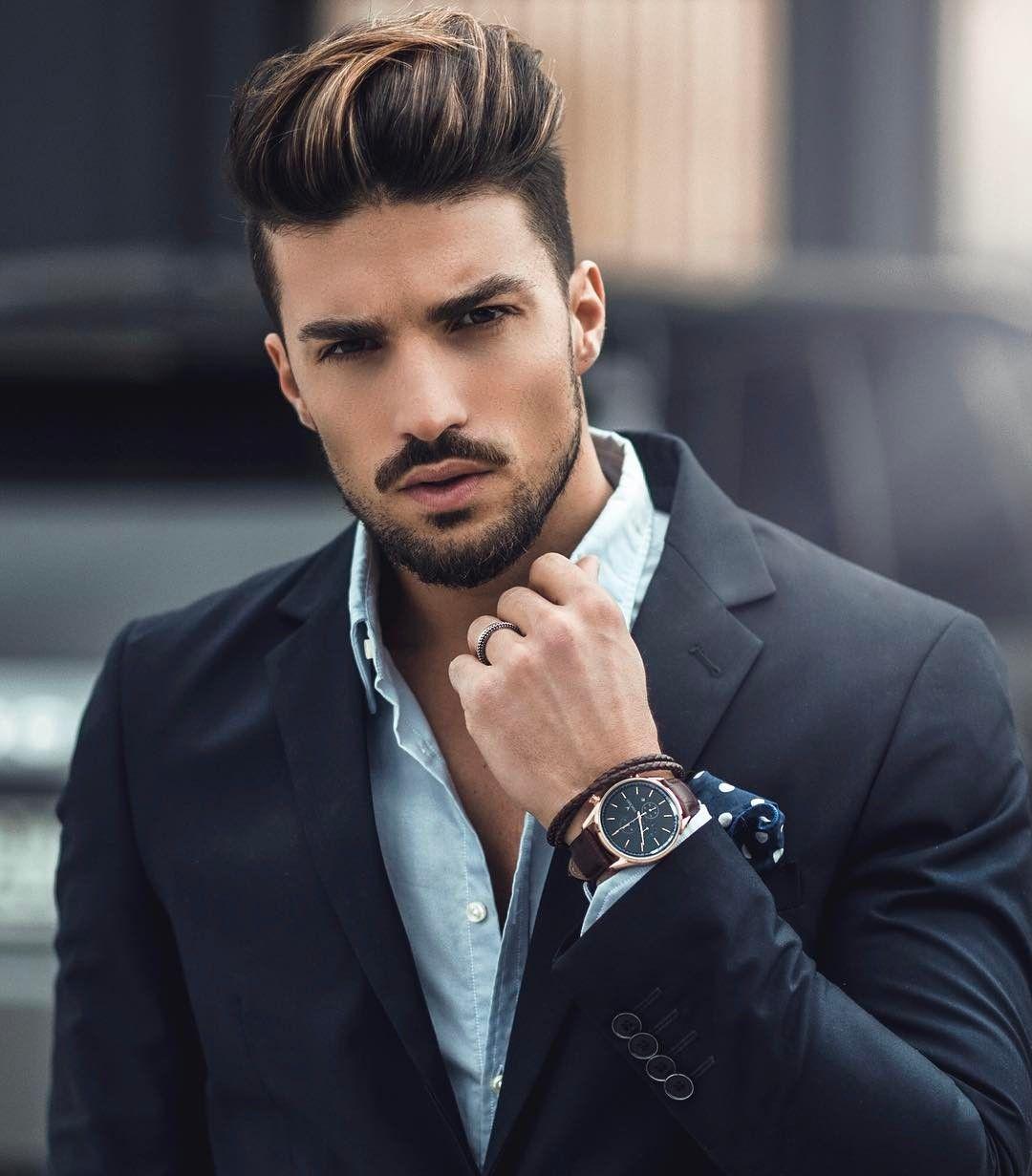 Hairstyles Highlights Men