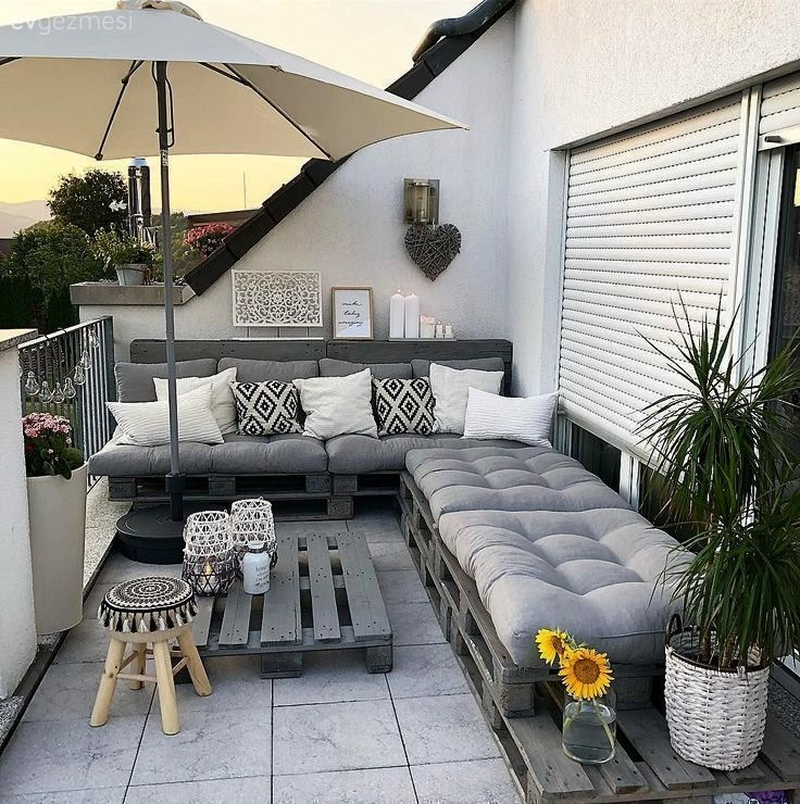 proof that you do not have expensive sofas for a beautiful balcony decor a beautiful  living ideasbalconyThe proof that you do not have expensive sofas for a beautiful ba...