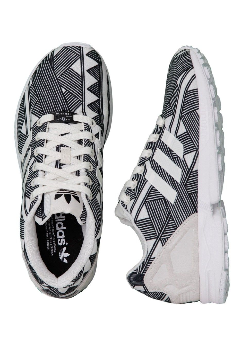 Off Adidas Zx Flux Whitegraphic Official Shop Merchandise Online wvmN0O8n
