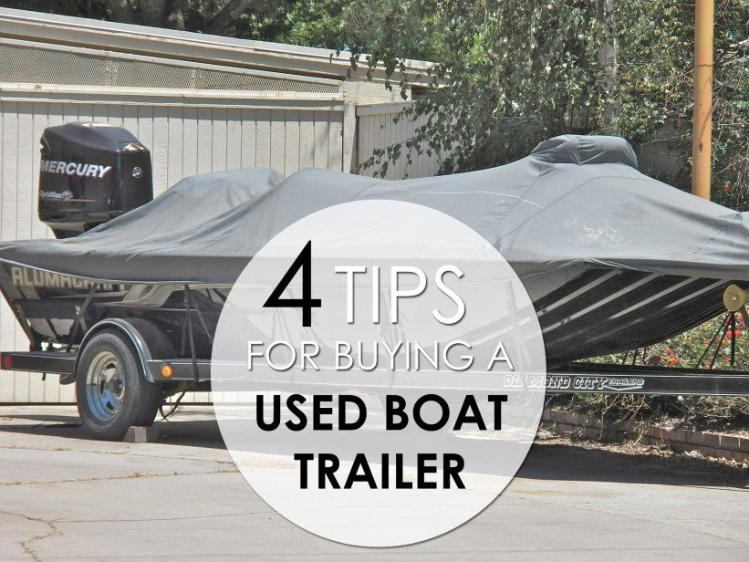 Tips for Buying a Used Boat Trailer  #buying #used #boat #trailer #guide #tips #info #advice #usedtrailer #boattrailer #boats #usedboat #salvageboats #auction