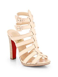 5db6347308a Christian Louboutin - Neronna Leather Sandals