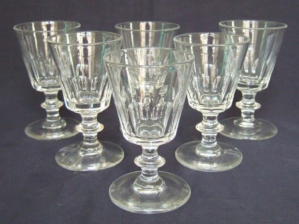 verre cristal baccarat ancien