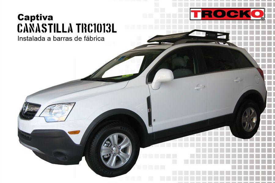 Canastilla porta equipaje Trocko, Captiva Chevrolet ...