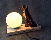 Lampe Art Deco Chien Levrier Barzoi Regule Marbre Opaline De Clichy Art Deco Lamps Antique Art Deco Art