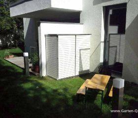 Gartenschrank Metall & Kunststoff GartenQ GmbH
