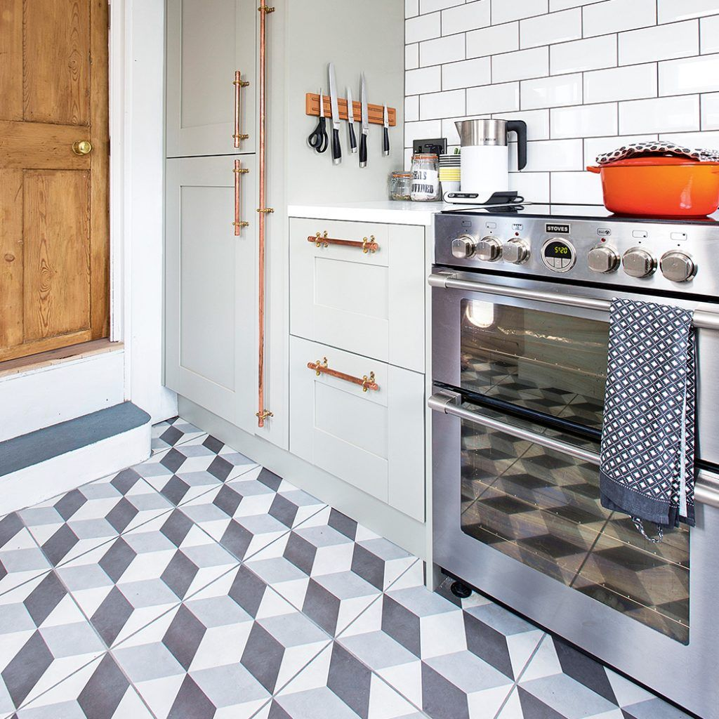 sophisticated kitchen floor tile ideas flooring to give your scheme a new look home kitchen on kitchen flooring ideas id=35394