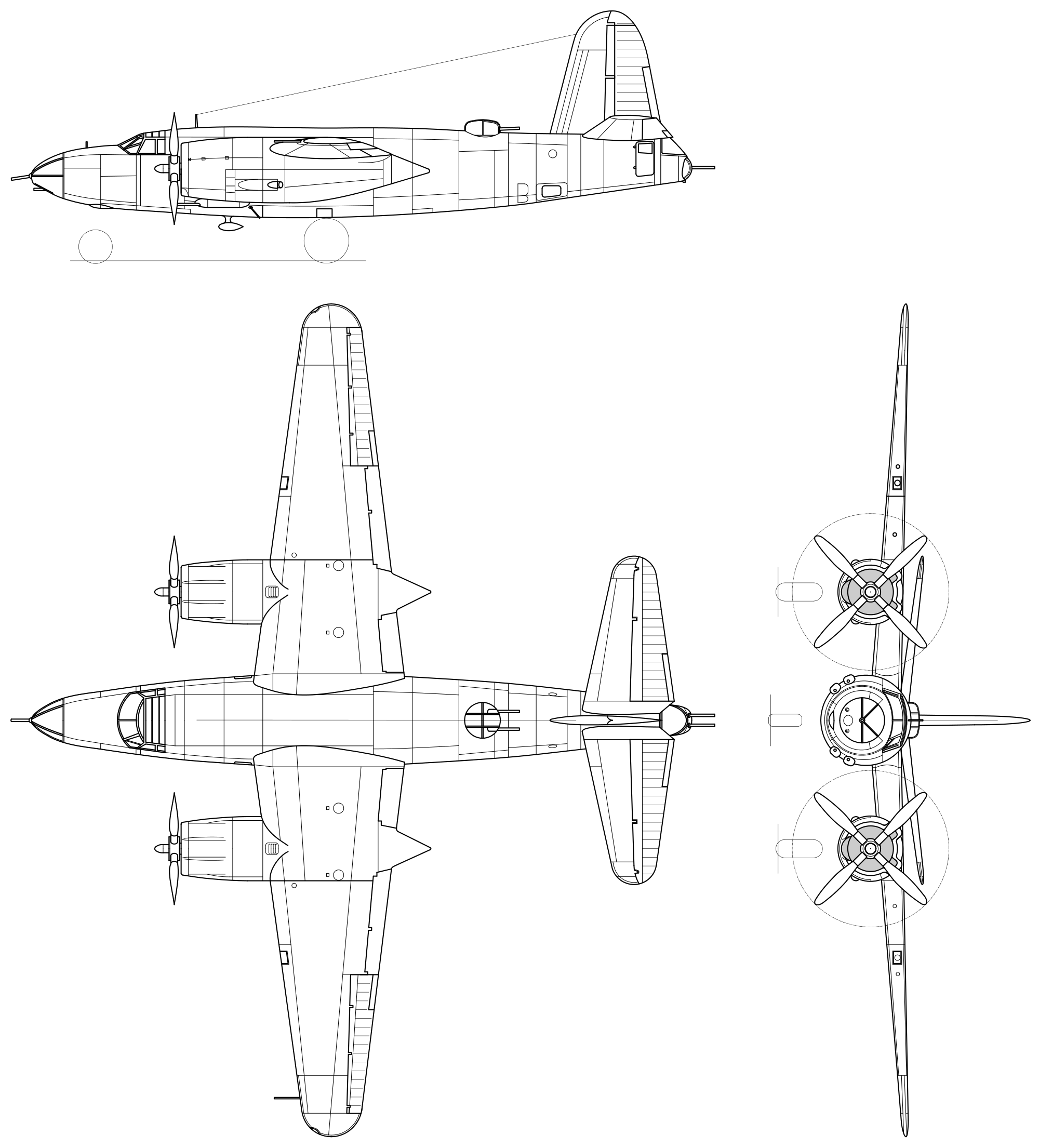 Large Plan Drawing Of The B 26