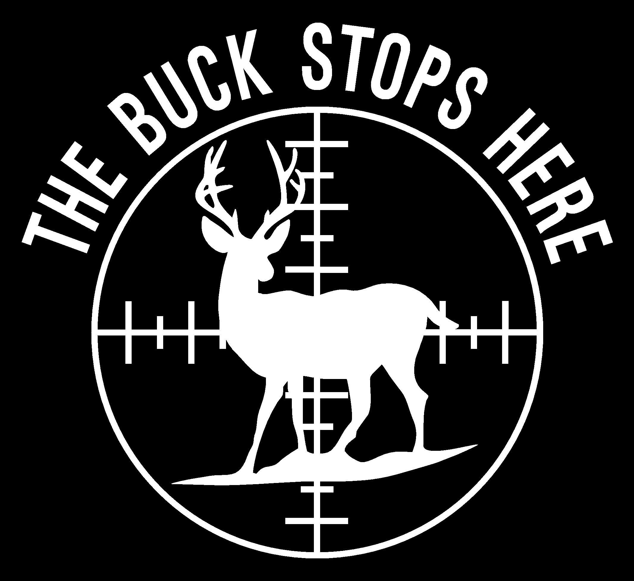 Deer Hunting Logos Home Hunting The Buck Stops