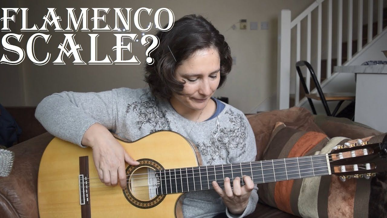 How to play a very common flamenco scale phrygian mode