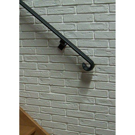 Main Courante Style Retro Noir 2m Obapi Escalier Pinterest