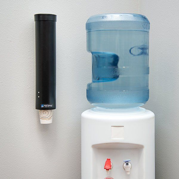 Vintage Wall Mount Dixie Cup Dispenser Blue W Clear Front 3oz Plastic Vintage Walls Wall Mount Dispenser