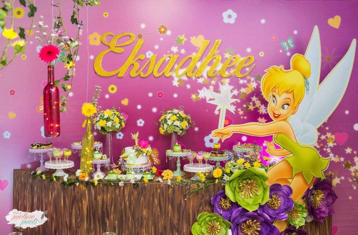 Magical Tinkerbell Party Decorations Ideas Theme Invitations Free Games