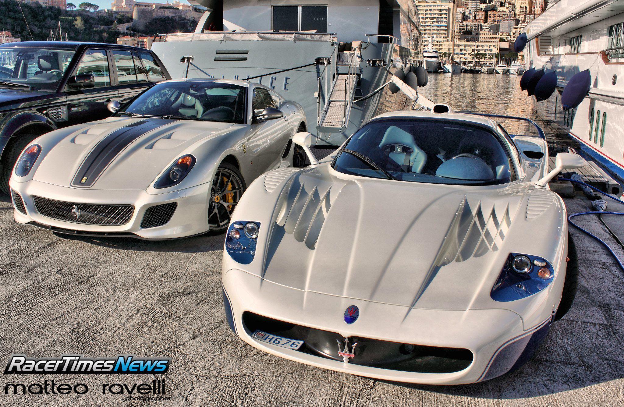 Maserati MC12 & Ferrari 599 GTO in Monte Carlo [2048x1336] - Imgur