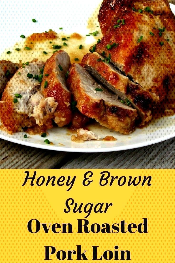 Baked Pork Loin Recipe With A Brown Sugar & Honey Glaze - I'm Luving This Life  - Pork tenderloin -
