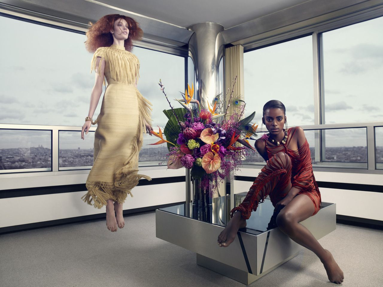 3e56cdb84a2 Alexandra Martynova and Alécia Morais by John-Paul Pietrus for SCMP Style  June 2014.  fashion  photography