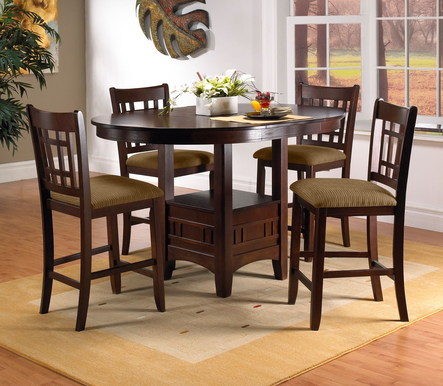 Elegant Casual Dining Room Furniture The Brighton II Collection Brighton II Pub  Table Photo Gallery