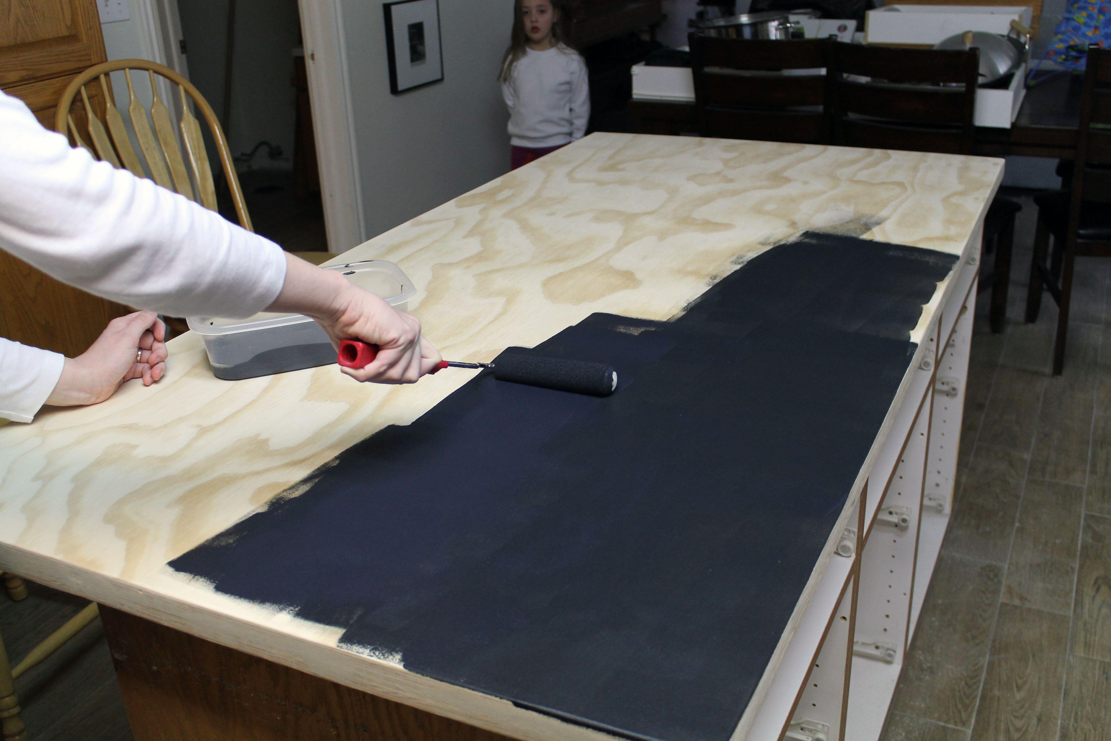 DIY Faux Soapstone Countertop | Casa economica, Cocina deco y ...