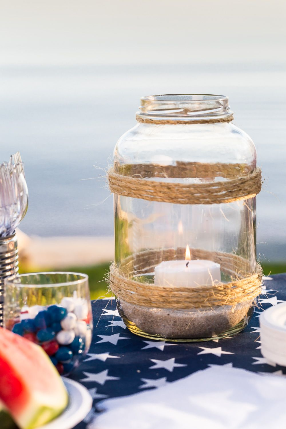 How To Make An Oversized Glass Candle Lantern Glass Candle