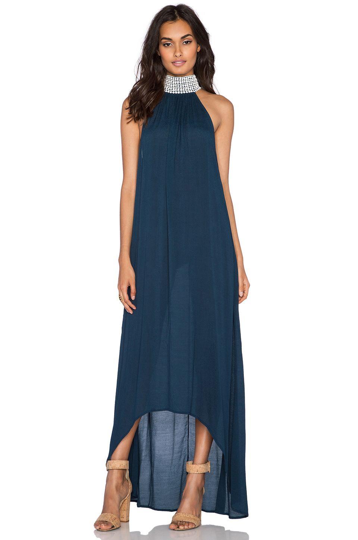 Elegant maxi dresses for weddings  Aila Blue Jelita Maxi Dress in Midnight  REVOLVE  Wedding