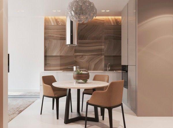 Appartements d\u0027un intérieur design moderne et chaleureux Comedores