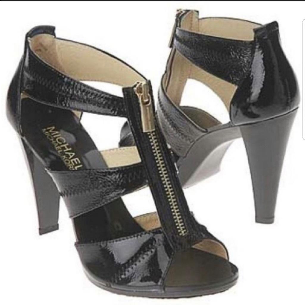 Michael Kors Shoes | Michael Kors Berkley Black Heels